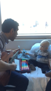 Music therapy with Julio