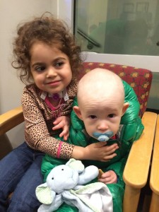 Briah & Mac after treatment
